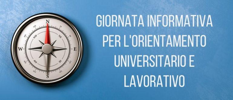 Giornata informativa per l'orientamento universitario e lavorativo