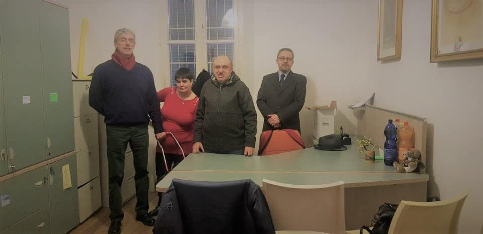 I dirigenti UICI alessandrini inaugurano lo sportello territoriale di Acqui Terme