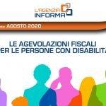 Copertina della Guida alle agevolazioni fiscali per le persone con disabilità
