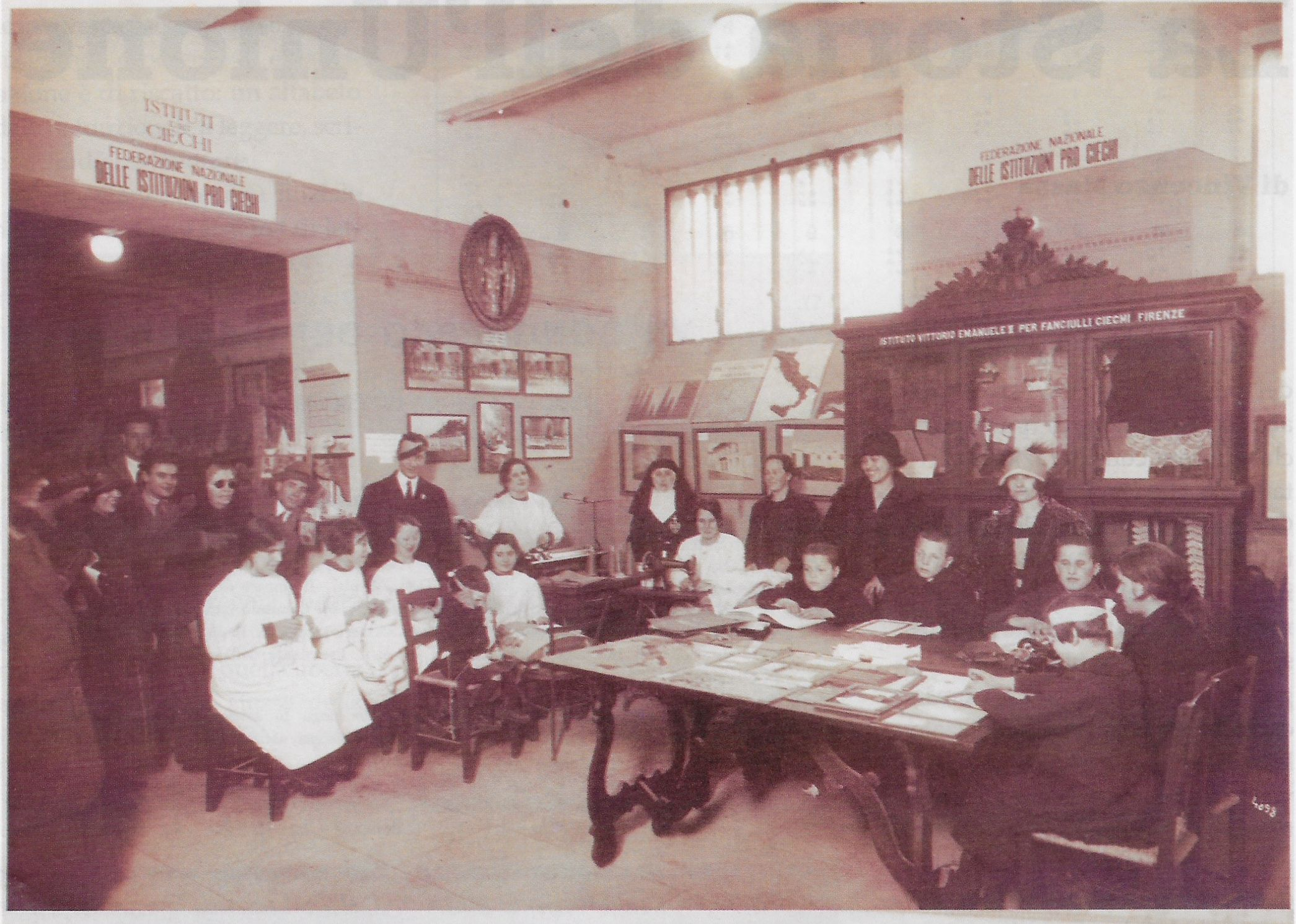 L'Istituto per Ciechi di Firenze - immagini di archivio