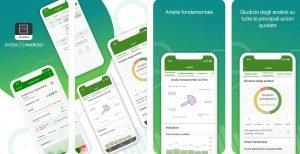 Schermate dell'app INVESTO