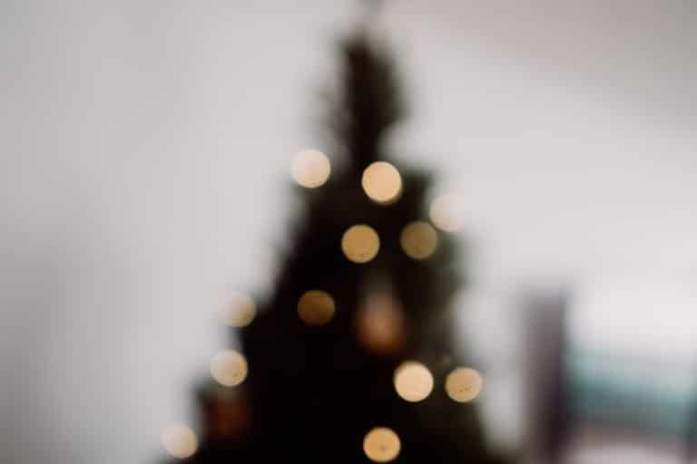 Sfondo con albero di Natale