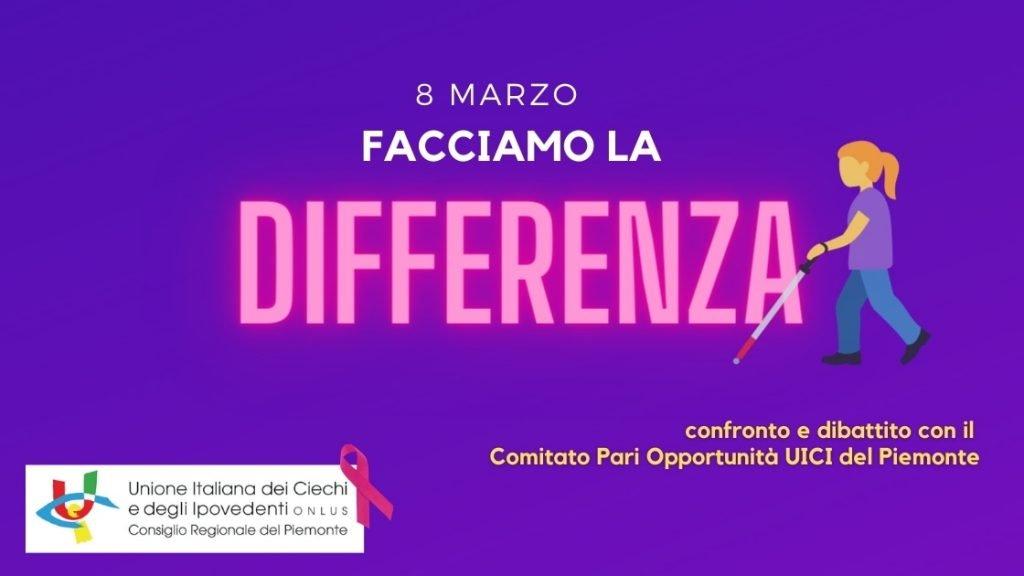 8 marzo: Facciamo La Differenza