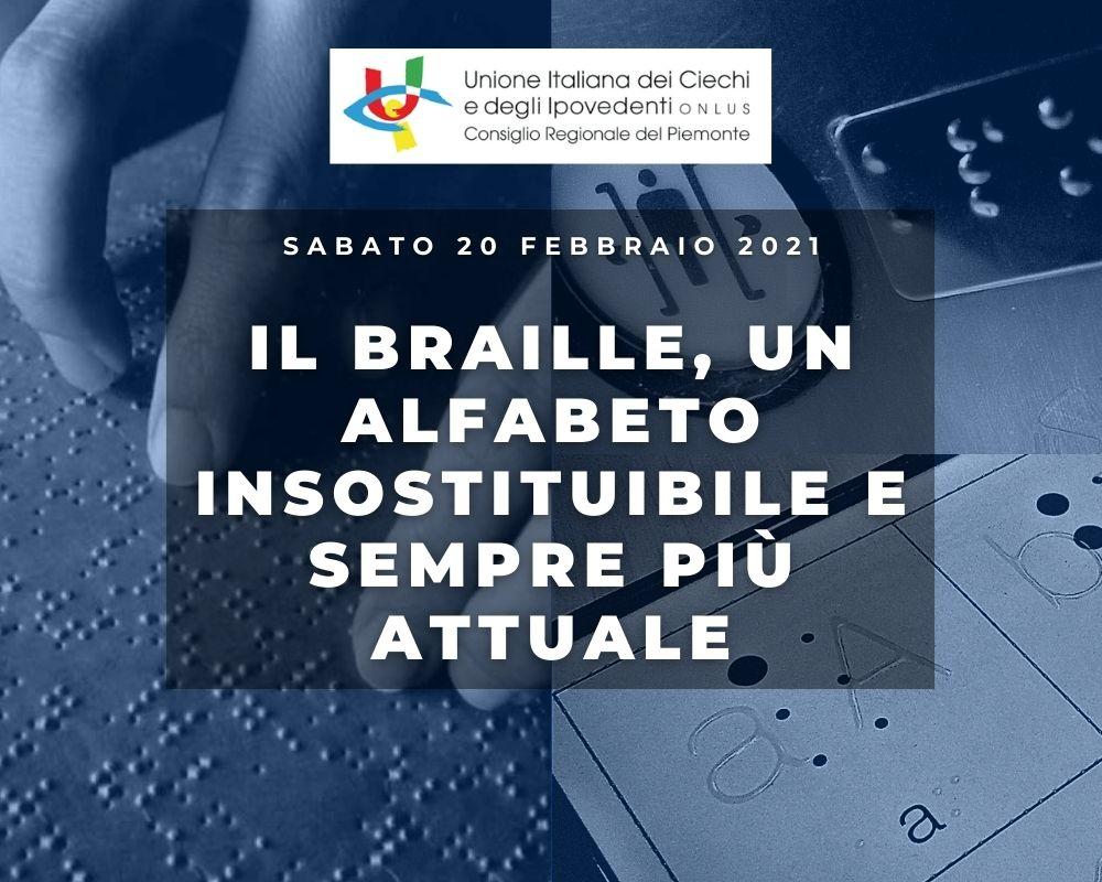 Giornata Nazionale del Braille, UICI Piemonte propone un seminario formativo per docenti di sostegno ed educatori