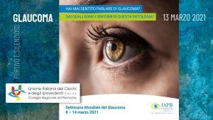 Locandina Seminario sul Glaucoma