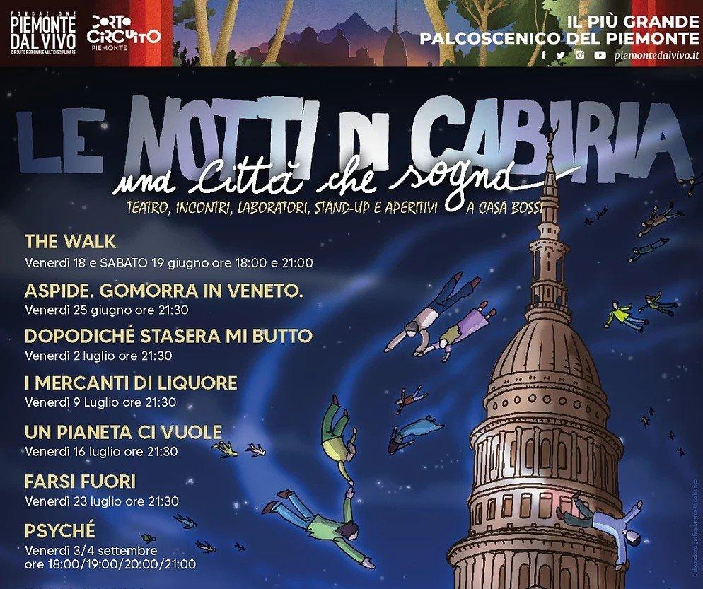 A Novara un'estate a teatro con audiodescrizioni per ciechi e ipovedenti